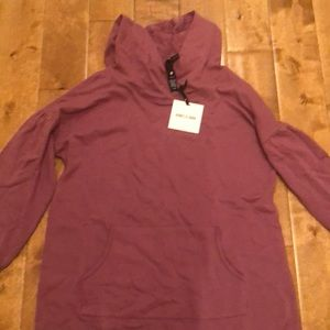 Puff sleeve fleece pullover Agnes and Dora